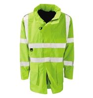Etna Flame Retardant Anti Static Hi-Visibility Jacket Yellow