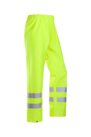 Flexothane 6361 Bastogne Hi Vis Rain Trouser EN471 Yellow