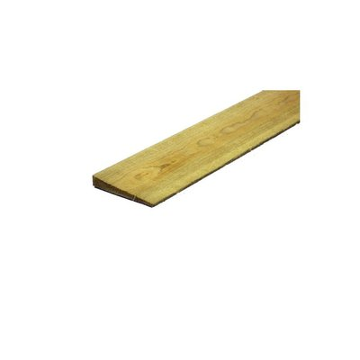 1.5m 2Ex 22 x 125mm Feather Edge Board Green