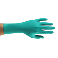 Ansell Long Cuff Touch N Tuff, Green, Nitrile, 1000/Case