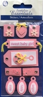 Baby Girl  Essential Craft Sticker.