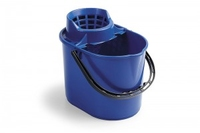 PLUTO BUCKET WITH SIEVE BLUE 12ltr