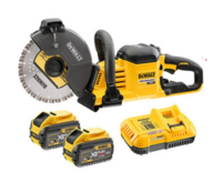 Dewalt DCS690X2 54V XR Flexvolt Cut Off Saw 230mm Blade 83mm Depth Cut 6600rpm C/W 2 X 9.0Ah Li-ion Flexvolt Batteries & Fast Charger (DeWALT Special Discount Price)