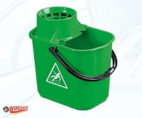 MASTERLUX BUCKET WITH SIEVE GREEN 16ltr
