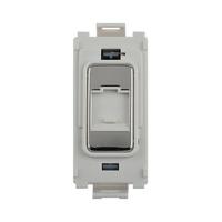 Flatplate Grid Mirror Steel Data Point Module LV0701.1348