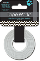 Tape Chevron Black/White (Priced in singles, order in multiples of 4)