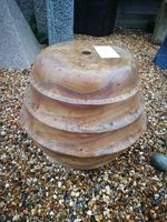 300mm DRILLED BEEHIVE RAINBOW
