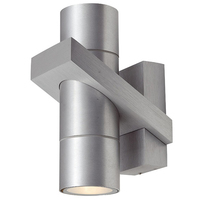 ANSELL Corvus 2x35W GU10 Wall Light