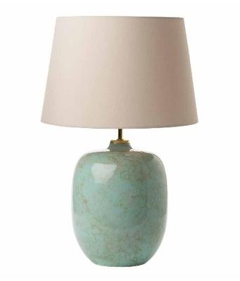 Elgar Table Lamp, Ceramic & Green Base Only, CEZ1629 Shade Separate | LV1802.0129