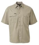 Bisley Cotton Drill Short Sleeve Shirt 190gsm