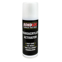 Bondloc Cyanoacrylate Aerosol Activator 200ml