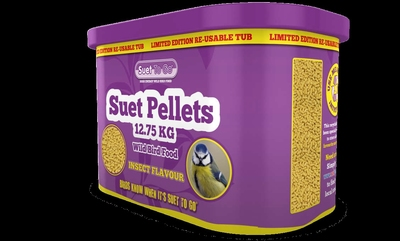 Suet to Go Suet Pellet STORE - Insect 12.75kg in TUB Limited Edition x 1