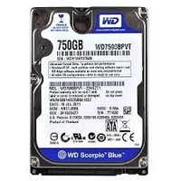 "Western Digital Blue 2.5"" 750GB CCTV hard dri"