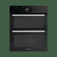 Hotpoint DU2540BL Built Under Double Oven - Black