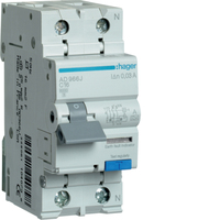 Hager 16amp RCBO C Type
