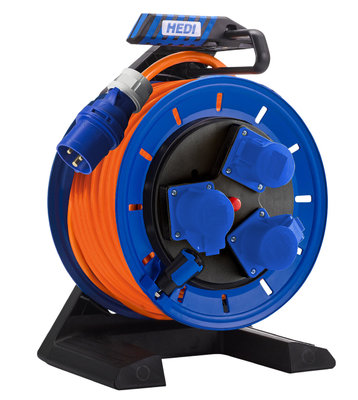 HEDI 40M 250V REEL FULL PLASTIC SPLASH PROTECT
