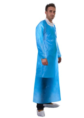 PE DISPOSABLE BLUE APRON 49011 C/W SLEEVE 98X150 (200)