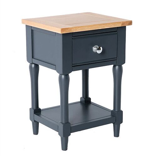 Sussex Navy Lamp Table 2