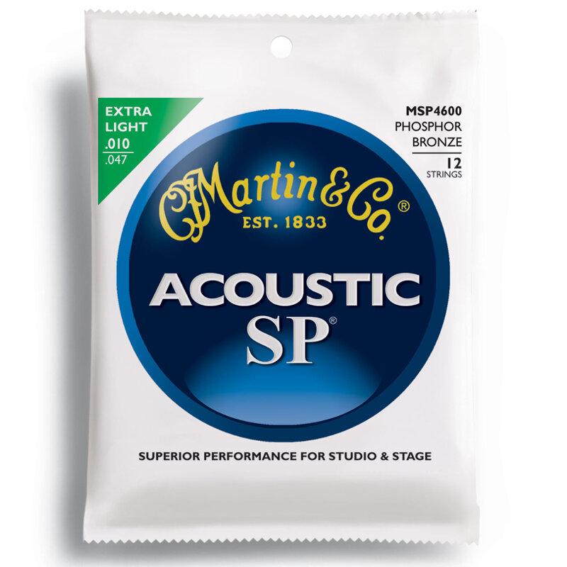 Martin SP series 12 string set Phosp Bronze