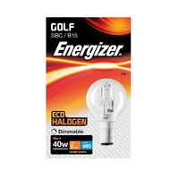Eveready 28W(40W) Energy Saving G45 Halogen Golf SBC