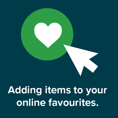 VIDEO: Adding items to your online favourites