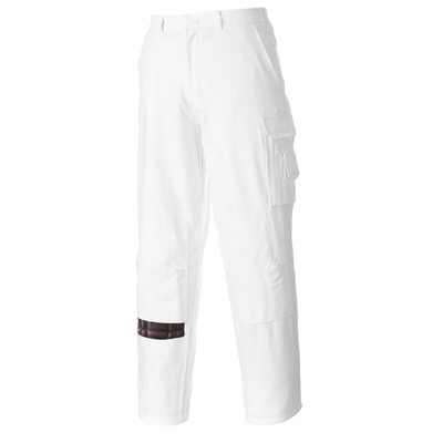 Portwest Painters Trousers White