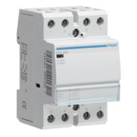 Hager ESC463 Contactor 63A 4 Pole 4 NO 230V