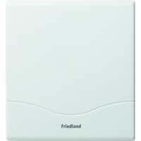 Friedland D142 Atlanta White 2 Note Mechanical Mini Doorchime