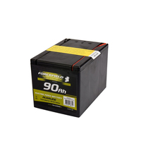 ELECTRIC FENCE BATTERY SQUARE ALKALINE 90AH