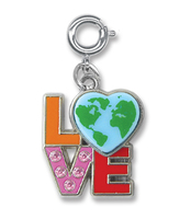 CHARM IT Love Earth Charm. (Priced in singles, order in multiples of 6)