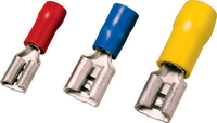 Insulated female disconnectors 4,0 - 6,0 mm², 6,3 x 0,8 , yellow