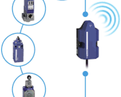 Telemecanique Sensors offers an Internet of Things solution to collect data from remote equipment and use this data, via the Internet, on a PC or mobile device.