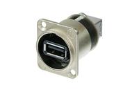 Neutrik NAUSB-W | Reversible USB 2.0 gender changer