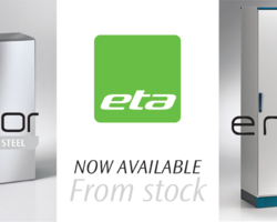 Coming later in 2019 is the new E COR wall mounted mild steel enclosures from our partners ETA.