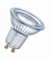 OSRAM GLASS GU10 LED 4.6W 350LM 120° 2700K ND | LV1303.0136