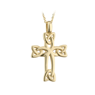 14K CELTIC CROSS
