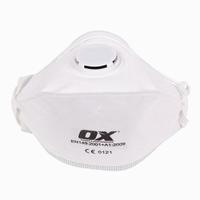 OX FFP3V - Fold Flat Respirator - Dust Mask