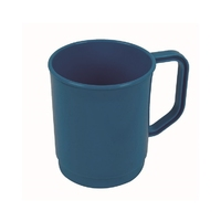 Plastic 275ml Mug Blue