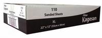 "Kagesan Bulk Box Sandsheets - XL 22"" x 12"" x 110"
