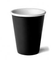 Coastal Double Wall Cup Black Ctn 500