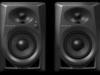 Pioneer DM-40-K (Black) | 4-inch compact active monitor speaker (black)