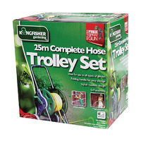 Kingfisher 25m Complete Hose Trolley Set - 625HRSX (625HRS)
