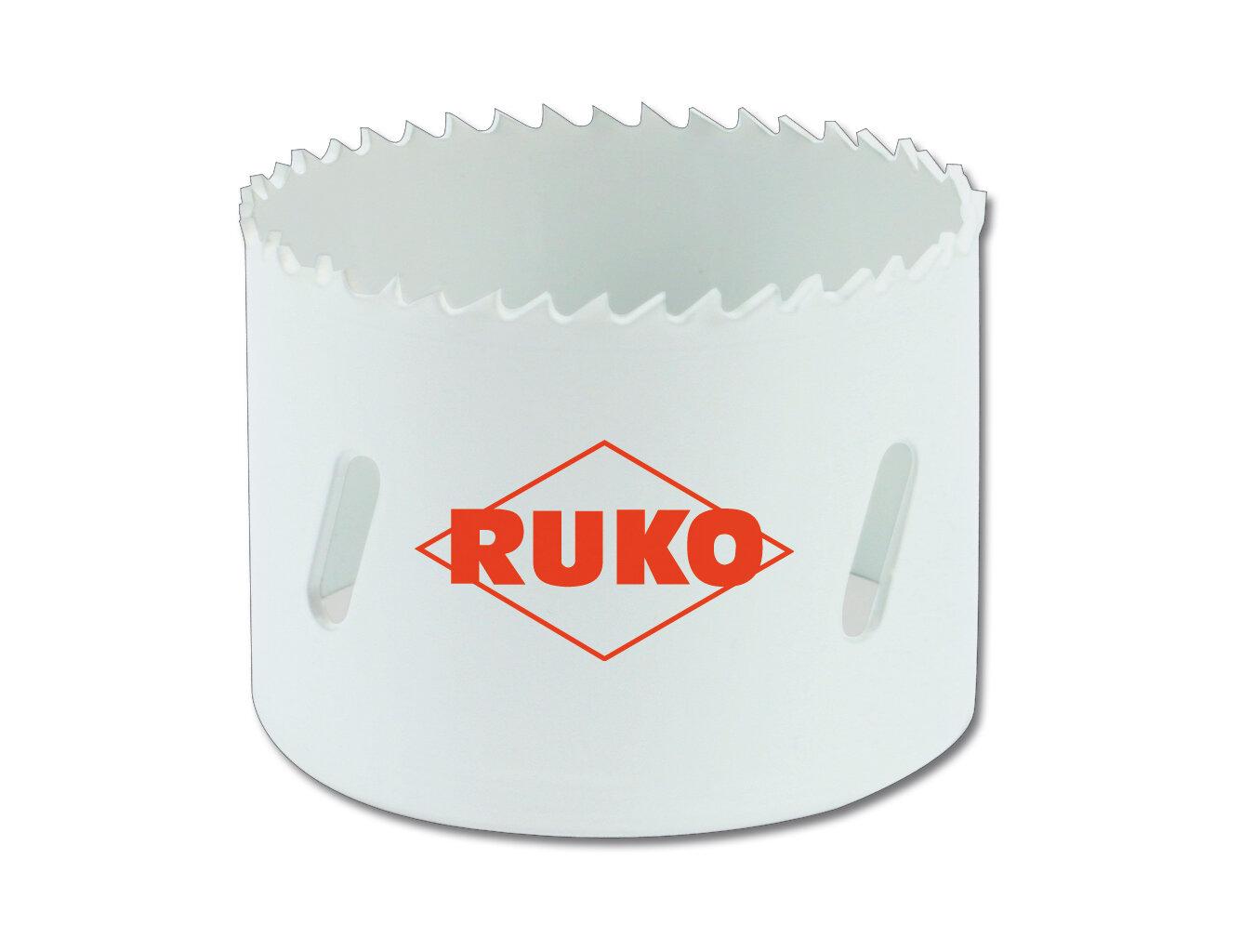 Ruko HSS Cobalt Holesaws Fine Tooth