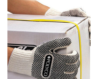 FIRMADOT PVC Dot Coated Knitted Glove (Pair)