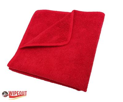 Red Microfiber Cloths