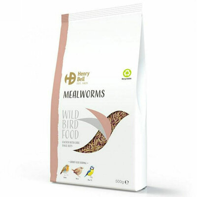Henry Bell Mealworms 100g x 1