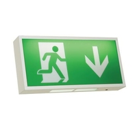 WATCHMAN 3 WATT LED EXIT SIGN COMES WITH LEGEND IP20 3 YEAR WARRANTY
