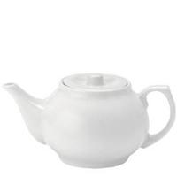 Pure White Teapot 30oz (82cl)