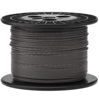Electronic Wire Tinned Copper 1000Meters Spool Black