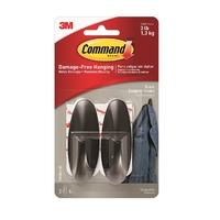 17081BLK Command Designer Medium Hooks Black
